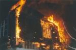 В Искитимском районе сгорела дача