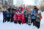Более ста ребят собрали новогодние старты в Подгорном