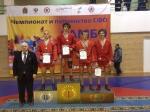 Степан Гоптарь – серебряный призер Первенства Сибири по самбо