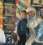 Конкурсом чтецов закончился Новогодний марафон в Линевской детской библиотеке