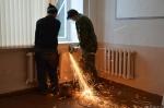 В школе поселка Степной полным ходом идет ремонт системы отопления
