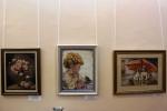 Итогом десятилетней работы стала выставка вышитых картин