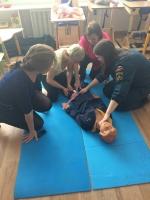 В детском саду «Дельфинчик» учились спасать жизни