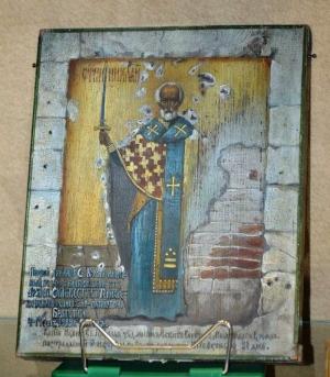 Заговорил сайт Искитимского музея - Слушать рассказ экскурсовода Нины Балабко об уникальной иконе