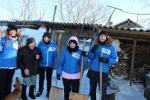 «Снежный десант» в Искитимском районе