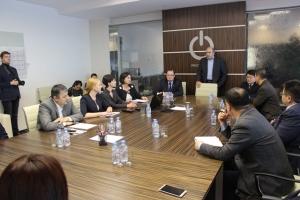 Встреча в технопарке: власти Искитима и гости из Карамая обсудили сотрудничество