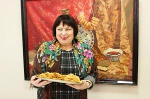 Сотрудники Искитимского музея накормили гостей масленичными блинами