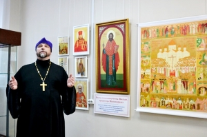 Выставка «Подвиг Новомучеников и исповедников Церкви Русской» открылась в Искитимском историко-художественном музее