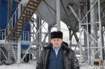 В селе Елбаши Искитимского района построен новый зерноочистительный комплекс
