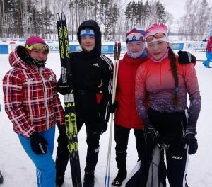 Лыжный сезон в разгаре