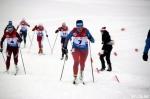 Линевская лыжница выступает на Первенстве России