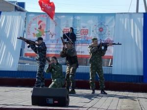 Всероссийский  фестиваль городской среды линевцы провели 18 марта