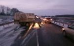 Трое пострадали в ДТП с грузовиком на Чуйском тракте