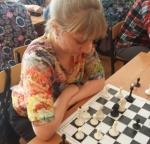 Педагоги района за шахматной доской