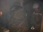 В Искитиме загорелся дом на улице Уклонной