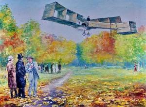 Персональная выставка новосибирского художника Евгения Баранова «Искусство летать» откроется в Искитимском музее