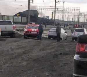 Под Искитимом столкнулись два грузовых поезда