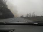 Пал травы возле НЗИВа: огонь мог перекинуться на производственные помещения и склады