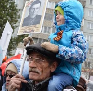 Торжественные митинги, посвященные 73-й годовщине Победы в Великой Отечественной войне в Искитимском районе