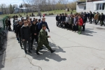 Старшеклассники Искитима на пять дней стали солдатами