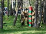 Реконструкцией легендарного боя отметили искитимцы День пограничника