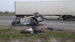 На трассе у шипуновского перекрестка  произошла авария