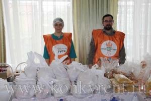 Цех фасовки продуктов для раздачи нуждающимся открылся в Искитиме