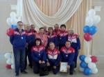 Пятыми на областном уровне стали ветераны спорта города Искитим