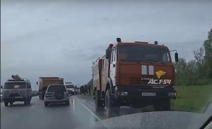 На трассе между Бердском и Искитимом столкнулись 4 автомобиля