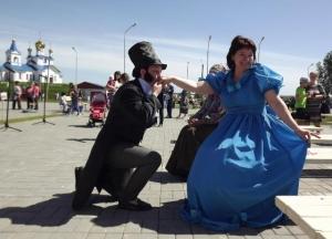 В парке Пушкина было многолюдно (ФОТОРЕПОРТАЖ)