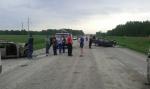 Легостаевец погиб в аварии на сельской дороге