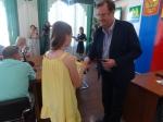 Юным искитимцам вручили первые паспорта
