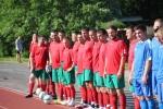 Футбольная команда Искитима борется за победу в финале областных сельских игр