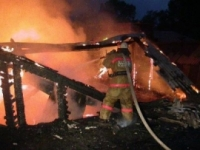 В деревне Завьялово сгорела крыша дома и сарай