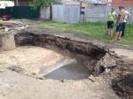 Фекальный апокалипсис: в Бердске обрушился канализационный коллектор