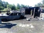 В деревне Шадрино на пожаре погиб человек
