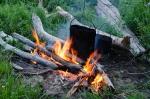 В Искитимском районе двое детей получили ожоги в кострах