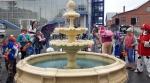 В Искитиме построили новый фонтан