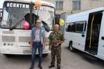 Новые автобус и газель приобретены для сельских маршрутов района