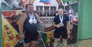 Линевские пауэрлифтеры завоевали медали Чемпионата Омской области