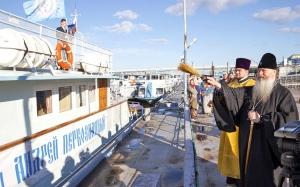 Корабль-церковь «Святой апостол Андрей Первозванный» отправится по районам Новосибирской области в августе