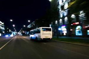 В День города после салюта горожан развезут автобусы