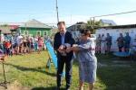 В Шипуново открыли новую детскую площадку