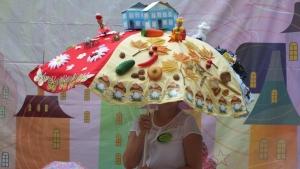 В день города искитимцы мерились зонтами