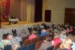 В Ложках прошла встреча мэра с жителями