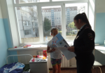 Сотрудники полиции провели уроки безопасности с пациентами детской больницы