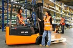 В Искитиме центр занятости обучит желающих профессии водитель погрузчика