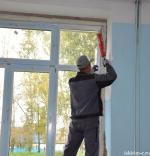 В школе села Белово идет замена окон