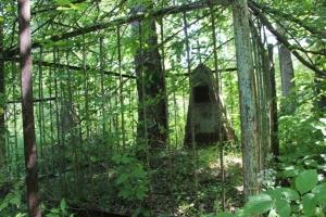 Старое искитимское кладбище: люди вносят тот вклад, который в их силах
