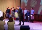 В ДК им. Ленинского Комсомола, прошла торжественная церемония вручения первых паспортов молодым гражданам Российской федерации